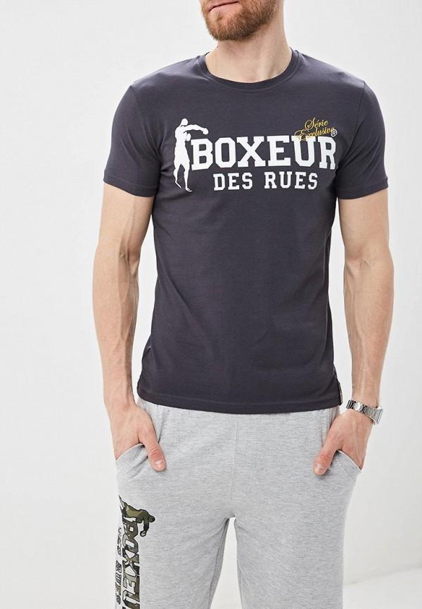 Футболка Boxeur Des Rues Boxeur Des Rues BO030EMFFDN8 футболка boxeur des rues boxeur des rues bo030emarsn4