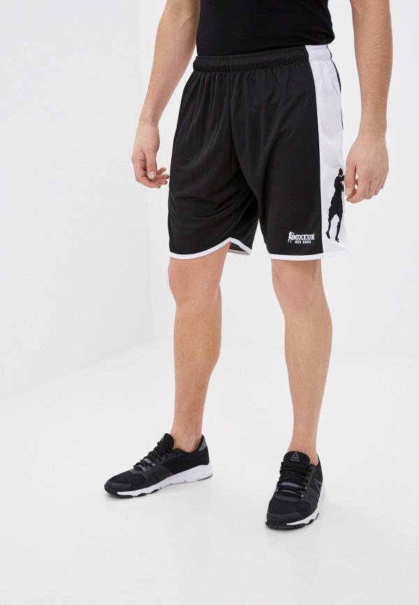 мужские спортивные шорты boxeur des rues, черные