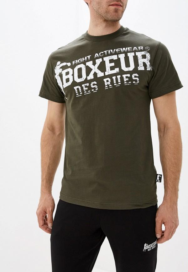 мужская спортивные футболка boxeur des rues, хаки