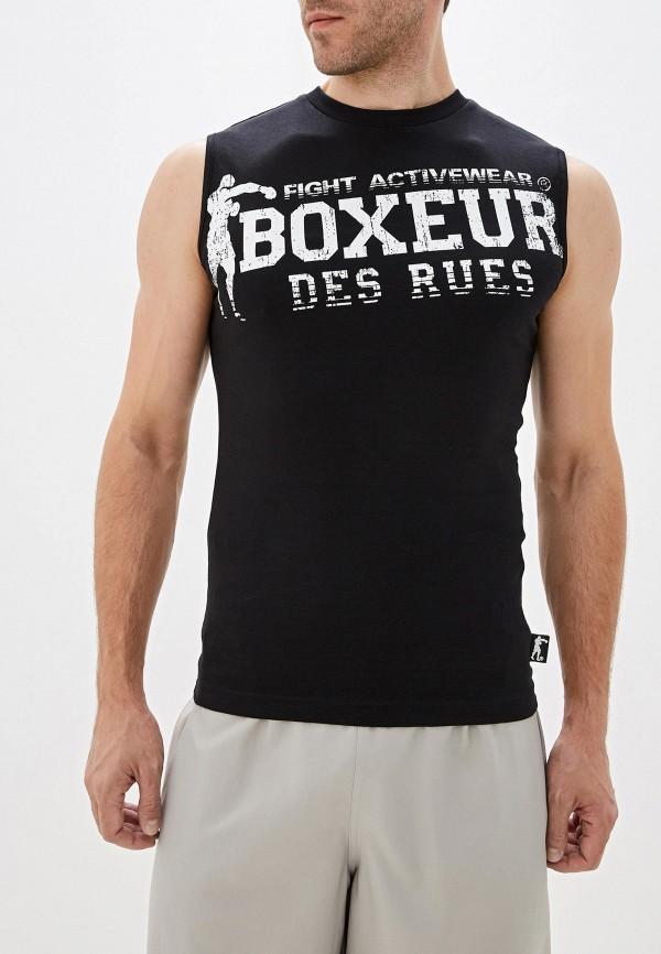 мужская спортивные майка boxeur des rues, черная