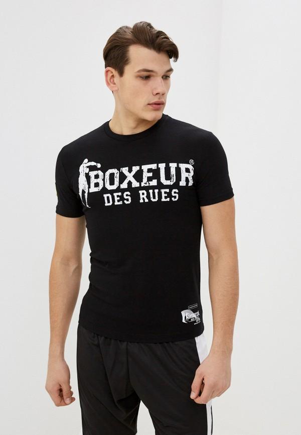 мужская спортивные футболка boxeur des rues, черная
