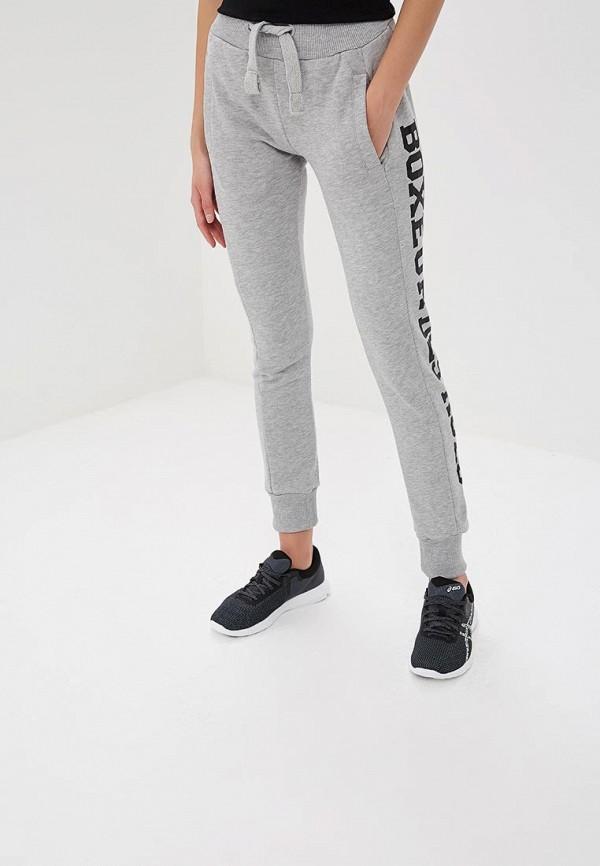 женские спортивные спортивные брюки boxeur des rues, серые