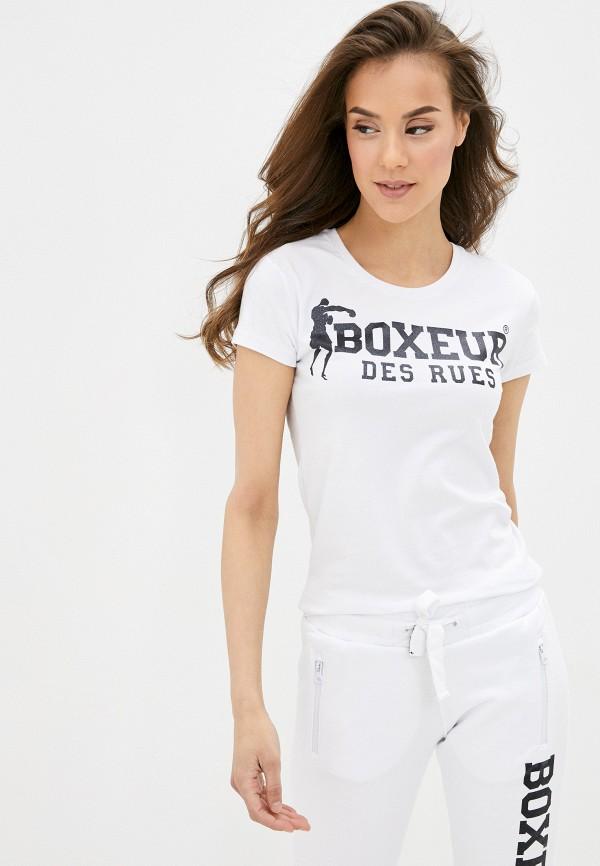 женская спортивные футболка boxeur des rues, белая