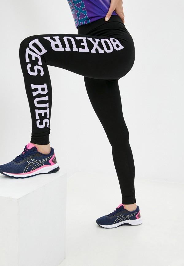 женские спортивные леггинсы boxeur des rues, черные