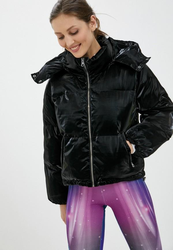 женская куртка boxeur des rues, черная