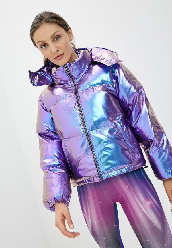 женская куртка boxeur des rues, фиолетовая