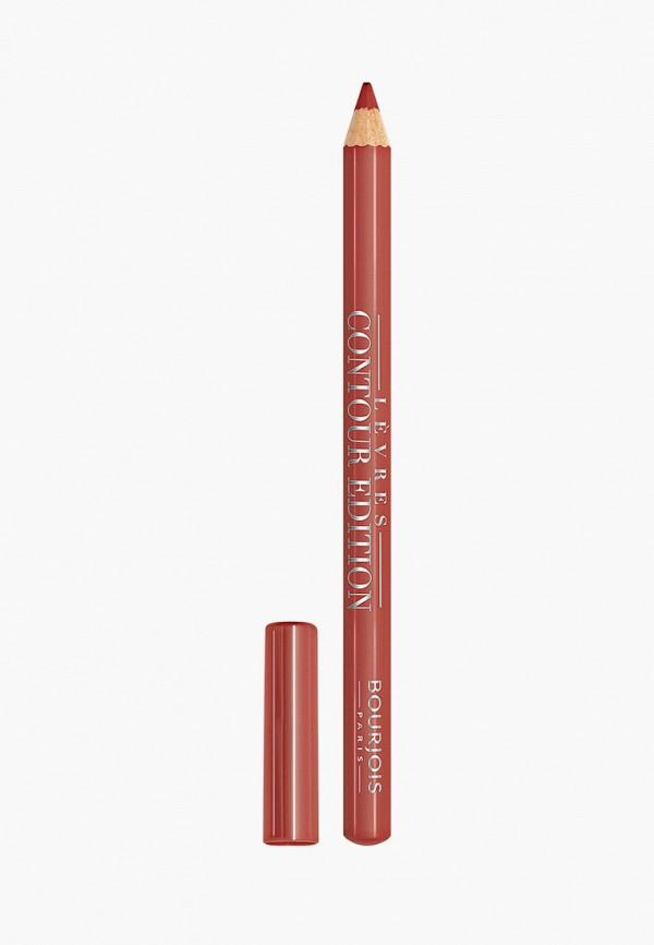 женский карандаш для губ bourjois