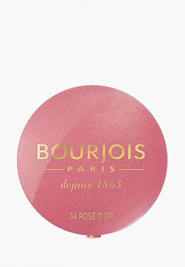 женская румяна bourjois, розовая