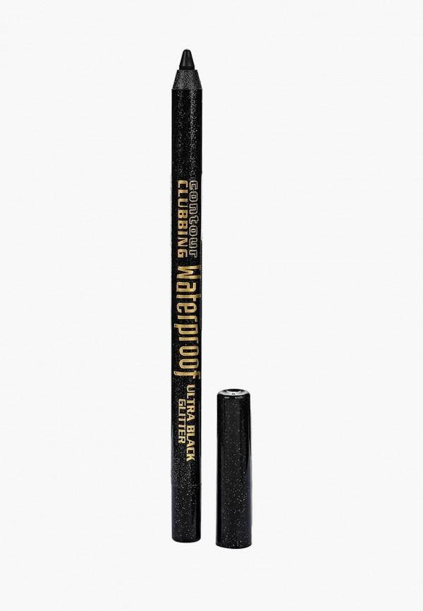 карандаш для глаз bourjois, черный