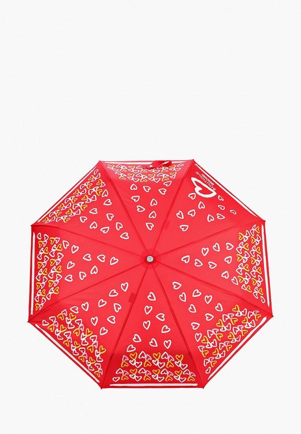 женский зонт boutique moschino, красный