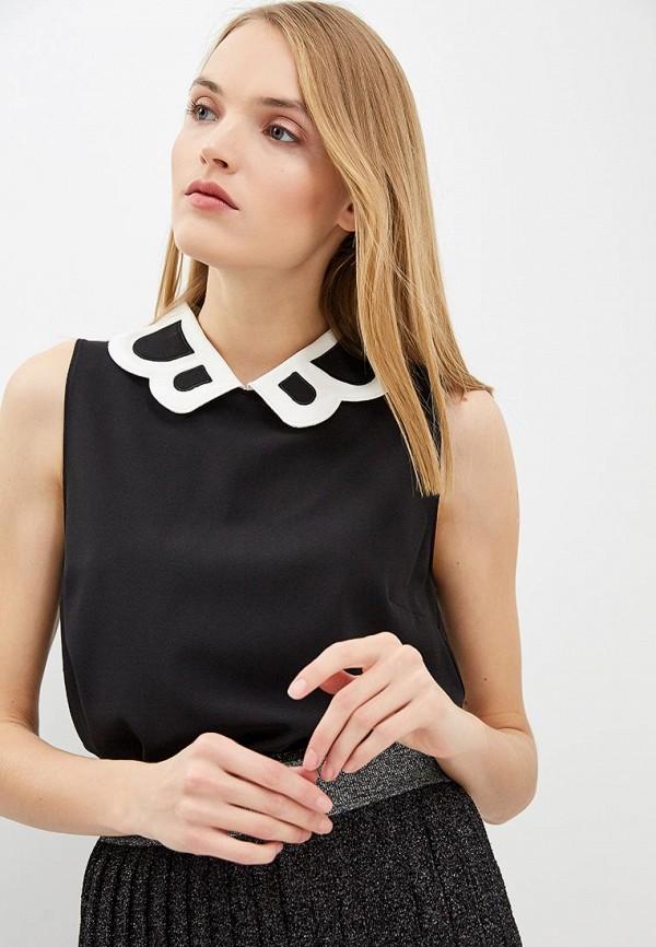 женский топ boutique moschino, черный