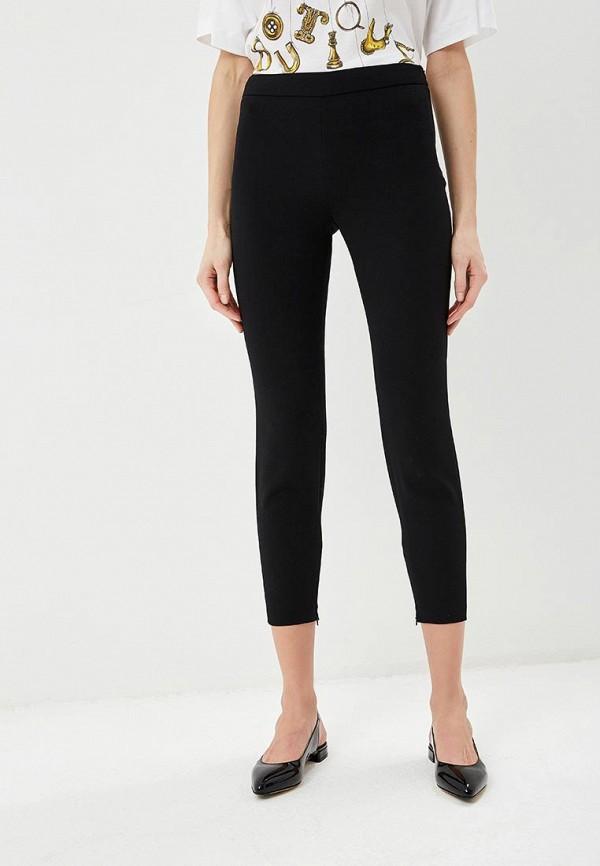 женские повседневные брюки boutique moschino, черные