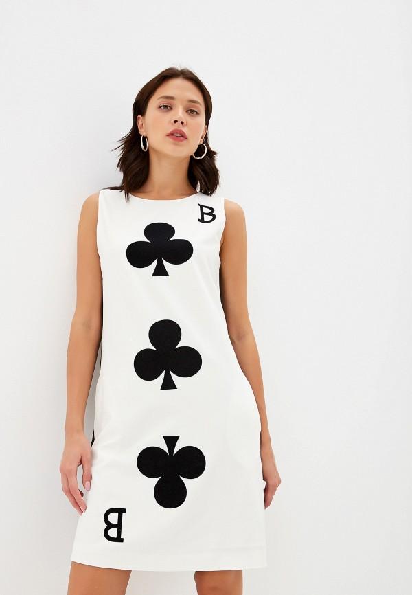 Платье Boutique Moschino Boutique Moschino BO036EWFTRG5 джемпер boutique moschino boutique moschino bo036ewdreb5