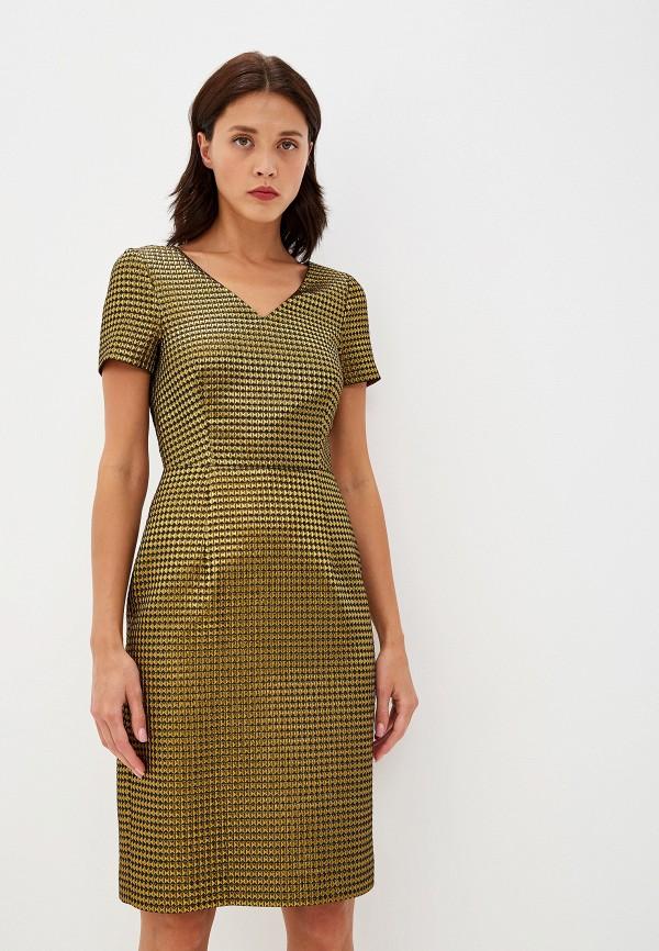 женское вечерние платье boutique moschino, зеленое