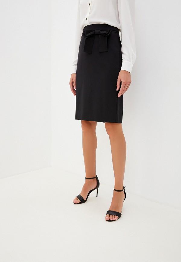 женская юбка boutique moschino, черная