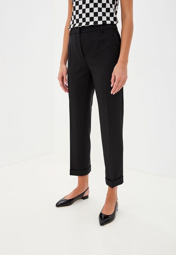 женские брюки boutique moschino, черные