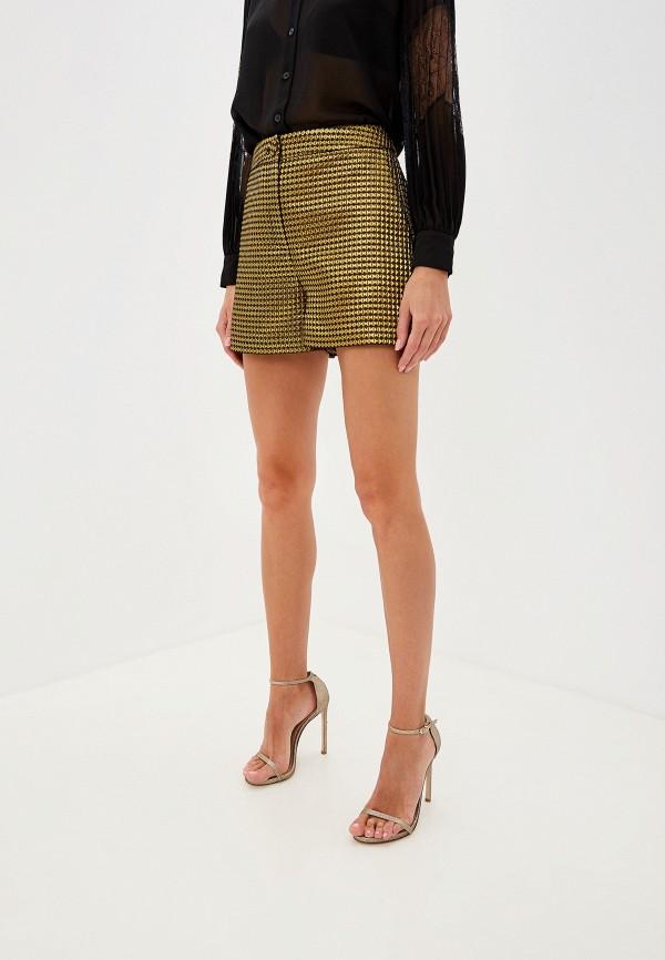 женские шорты boutique moschino, золотые