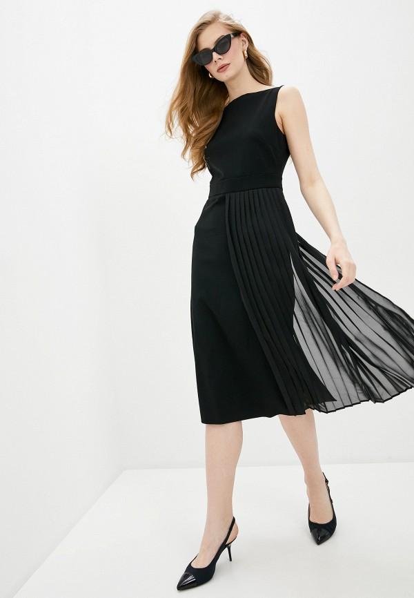 женское повседневные платье boutique moschino, черное
