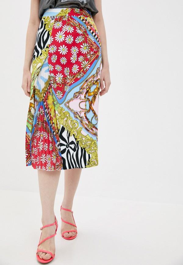 женская юбка boutique moschino, разноцветная