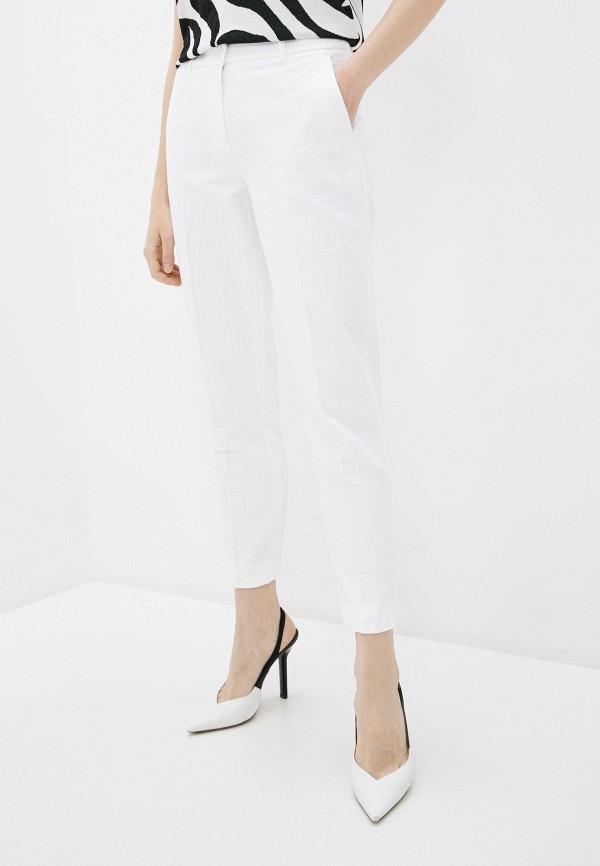 женские повседневные брюки boutique moschino, белые