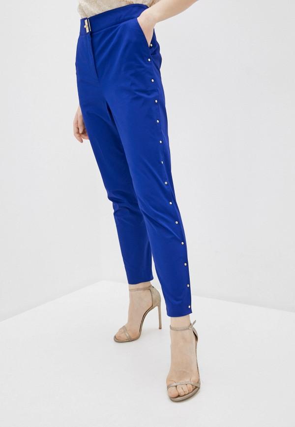женские повседневные брюки boutique moschino, синие