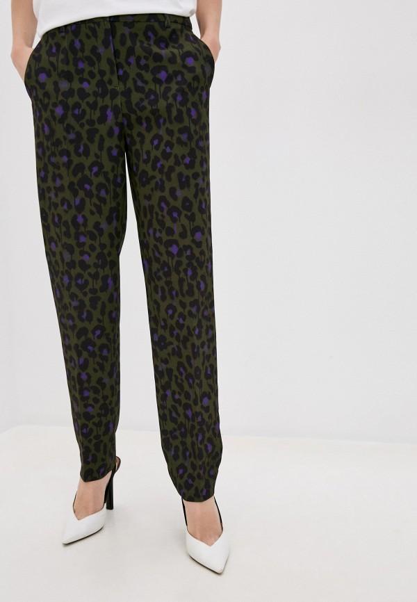 женские повседневные брюки boutique moschino, зеленые