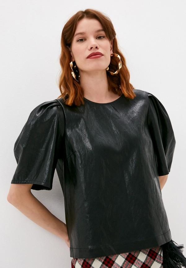 женская блузка boutique moschino, черная