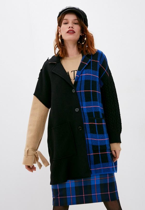 женский кардиган boutique moschino, разноцветный