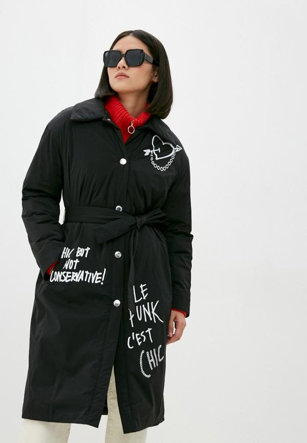 женская куртка boutique moschino, черная