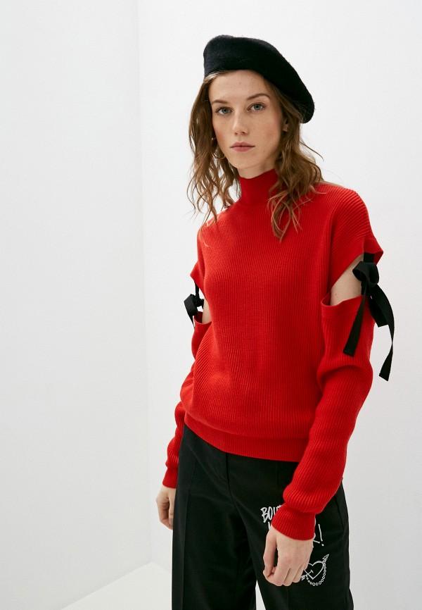женский свитер boutique moschino, красный