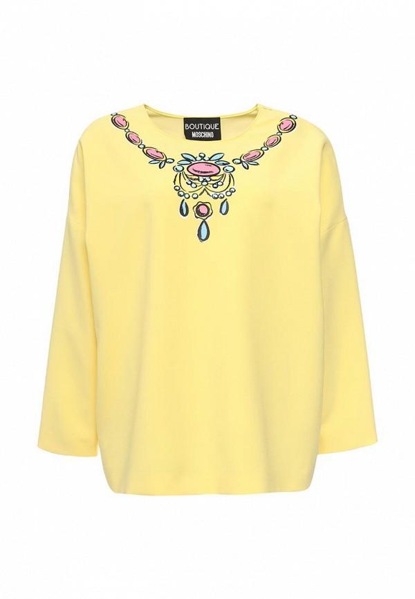 цена Блуза Boutique Moschino Boutique Moschino BO036EWOVM68 онлайн в 2017 году