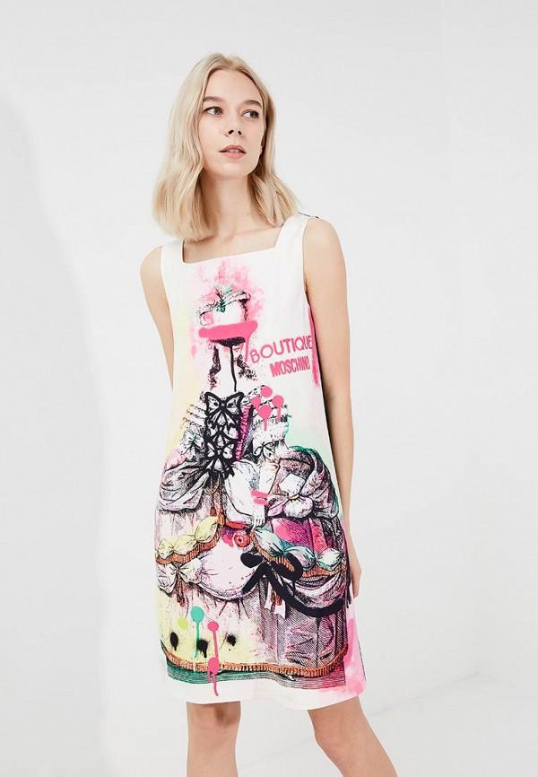 Платье Boutique Moschino Boutique Moschino BO036EWYWF39