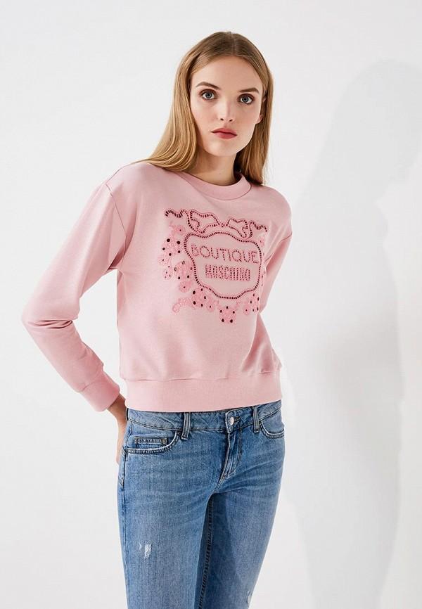 Свитшот Boutique Moschino Boutique Moschino BO036EWYWF44 свитшот moschino moschino mo351ewmid58