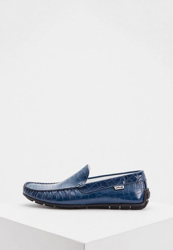 мужские мокасины botticelli, синие