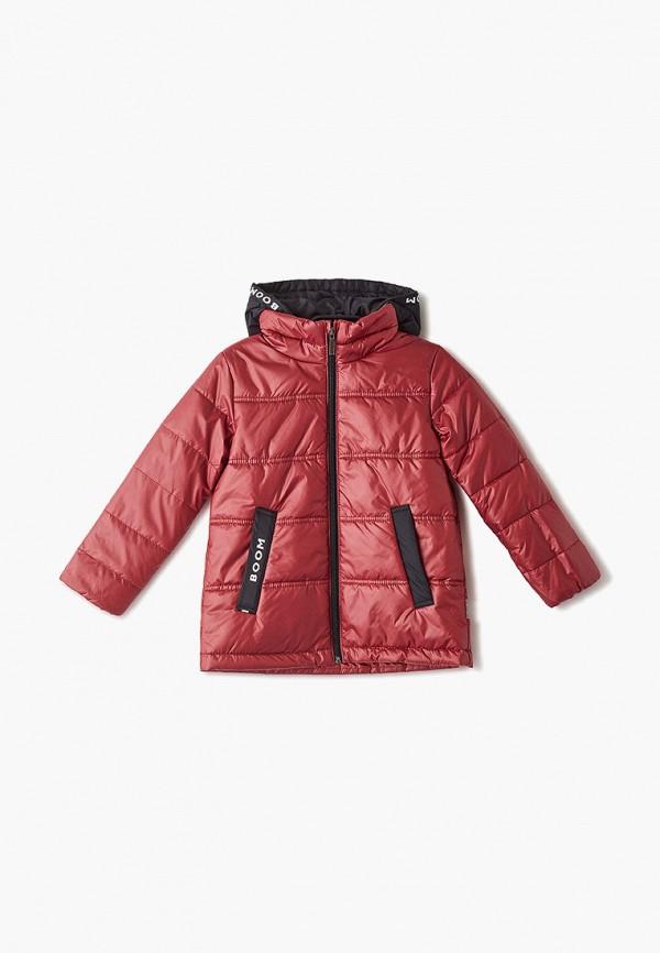 Куртка утепленная Boom Boom BO051EBFUDO0 куртка для девочки boom цвет красный 70329 bog вар 2 размер 98 3 4 года
