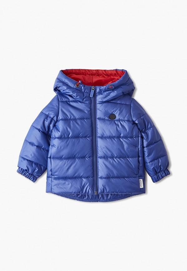 Куртка утепленная Boom Boom BO051EBFUDP2 куртка для мальчика boom цвет темно синий 90009 bob размер 140