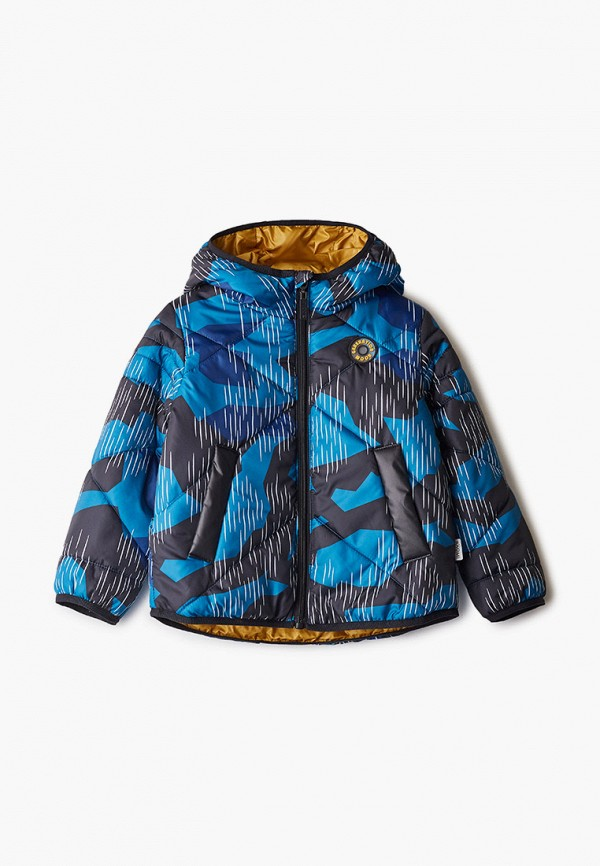 куртка boom by orby для мальчика, синяя