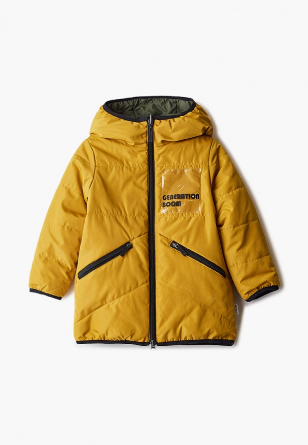 куртка boom by orby для мальчика, разноцветная