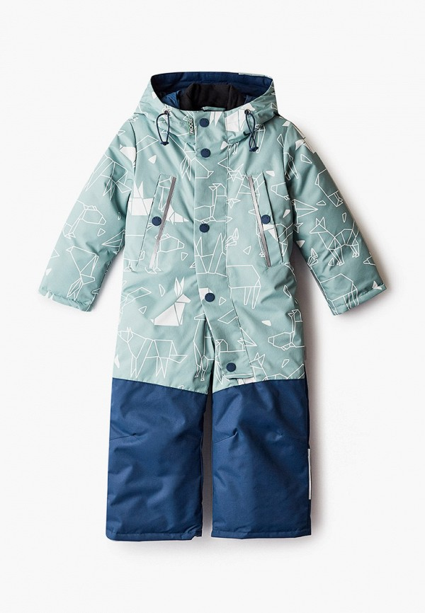 комбинезоны и костюмы boom by orby для мальчика, зеленые