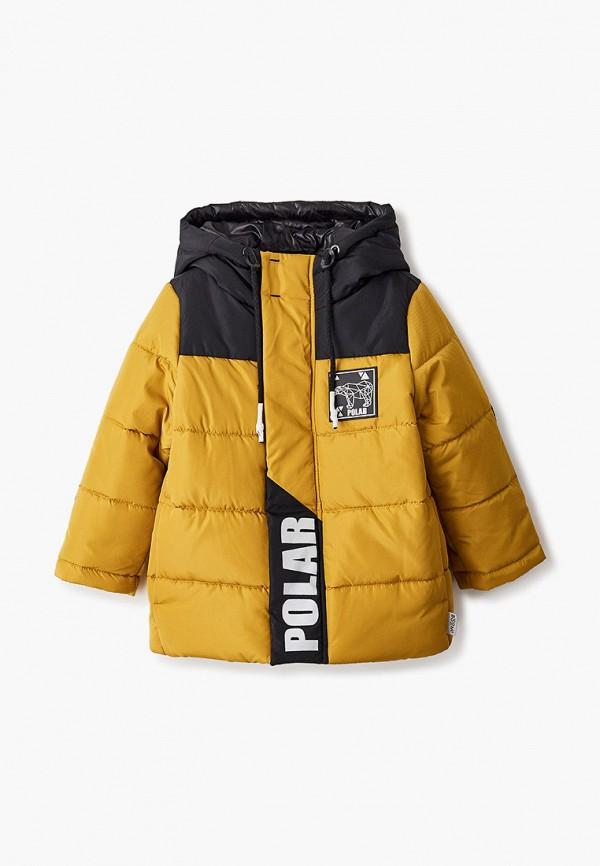 куртка boom by orby для мальчика, желтая