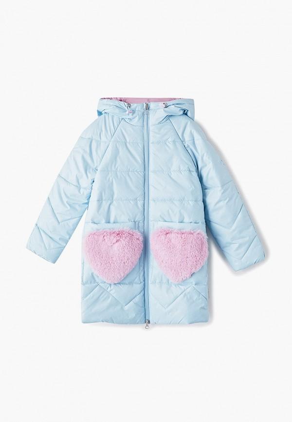 куртка boom by orby для девочки, голубая