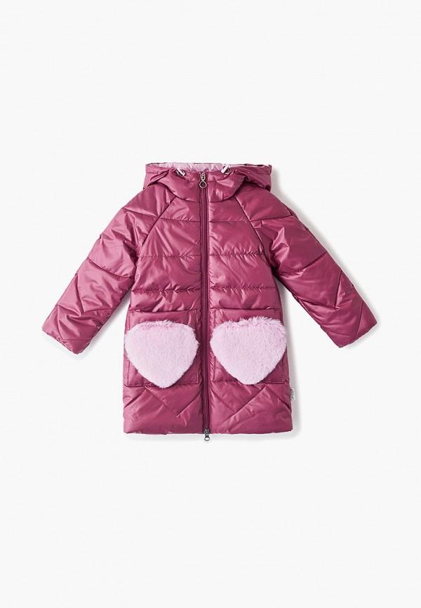 куртка boom by orby для девочки, розовая