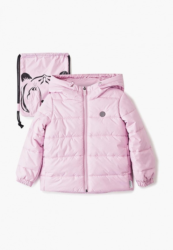 куртка boom by orby для девочки, фиолетовая