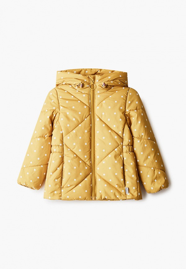 утепленные куртка boom by orby для девочки, желтая
