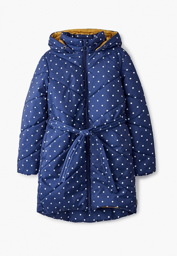 утепленные куртка boom by orby для девочки, синяя