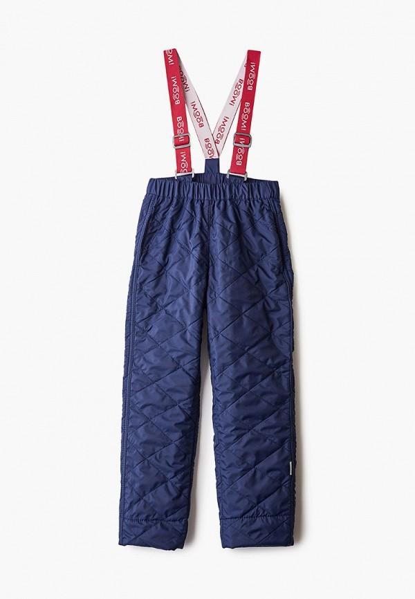утепленные брюки boom by orby для девочки, синие