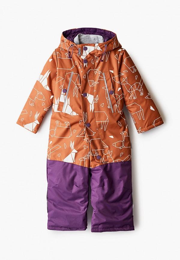 комбинезоны и костюмы boom by orby для девочки, коричневые