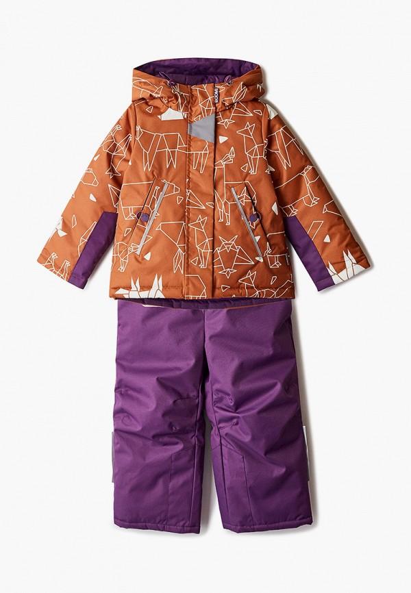 комбинезоны и костюмы boom by orby для девочки, разноцветные