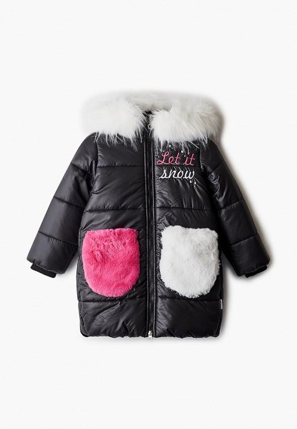 куртка boom by orby для девочки, черная