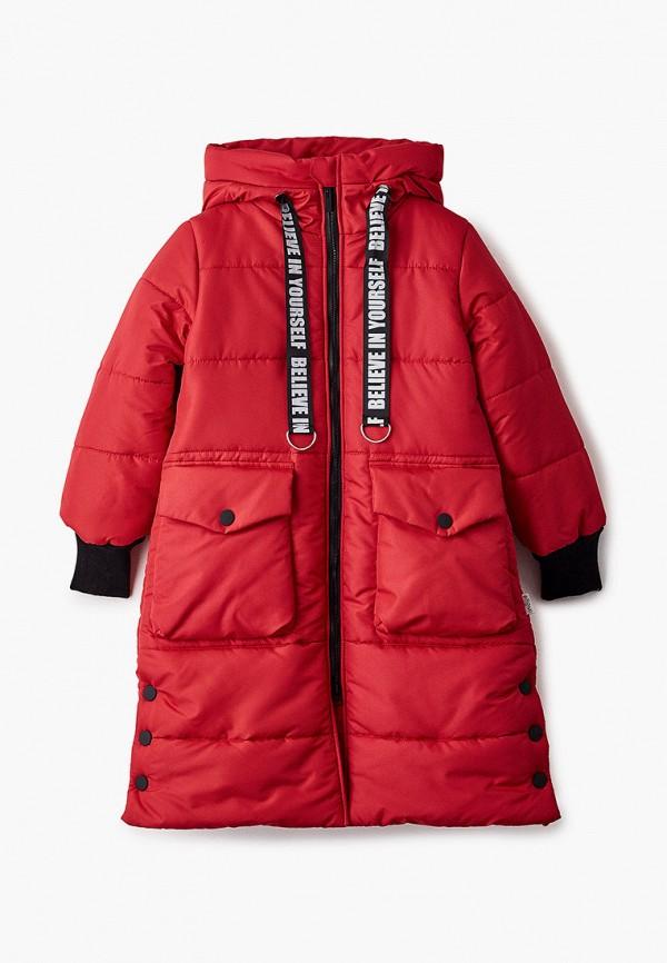 куртка boom by orby для девочки, красная